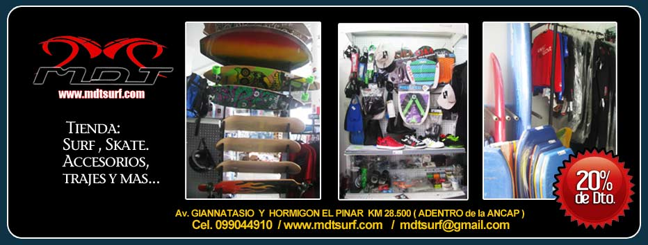 MDT Surfshop 20% Dto.