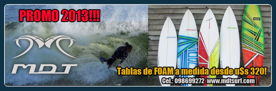 MDT Surf Tablas de surf shapes a medida.Uruguay
